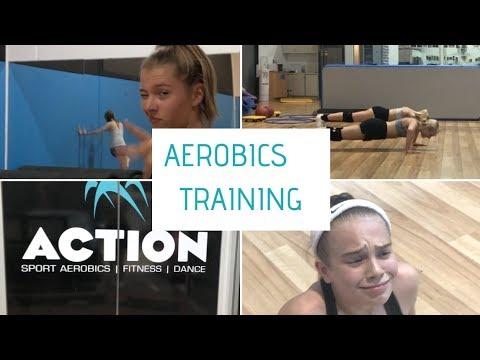 Aerobics Training Vlog || Williams Twins
