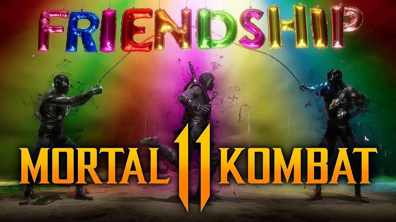 Mortal Kombat 11 - ALL Friendships Revealed SO FAR! (Sub-Zero ...