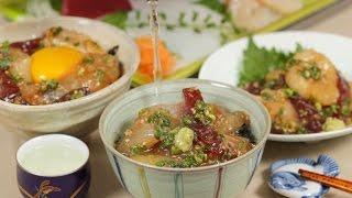 Ryukyu Recipe (3 Ways to Enjoy Marinated Sashimi) | Cooking with Dog