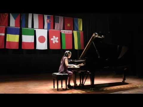 Momoka Chiba(13), Japan - I Prize, I Krystian Tkaczewski International Piano Competition