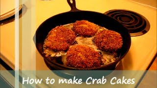 How To Make Crab Cakes / Soul Food Recipe