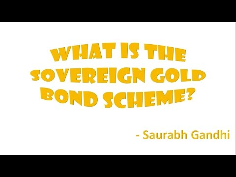 What is the Sovereign Gold Bond Scheme?
