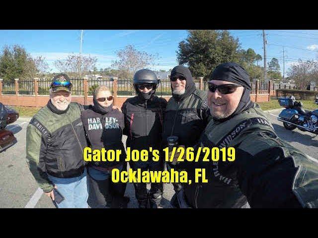 Michel Marcias Motorradreise (Gator Joe's 2019) + video