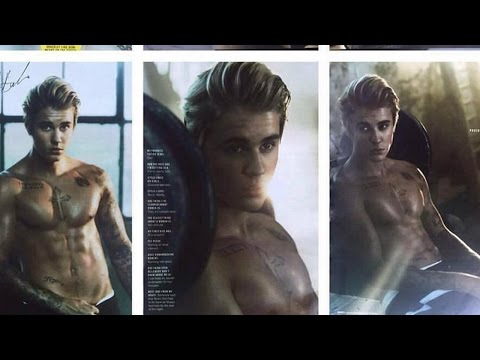 Justin Bieber Teases New Shirtless Cosmopolitan Magazine Spread!