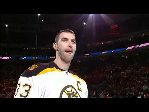Zdeno Chara sets hardest shot record
