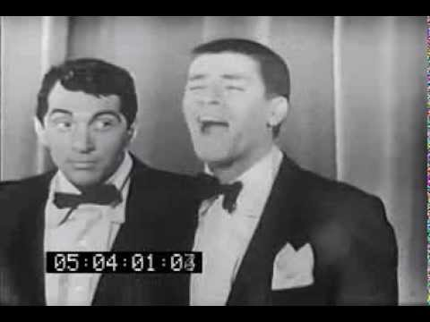 Jerry Lewis introduces Dean Martin singing Glory of Love