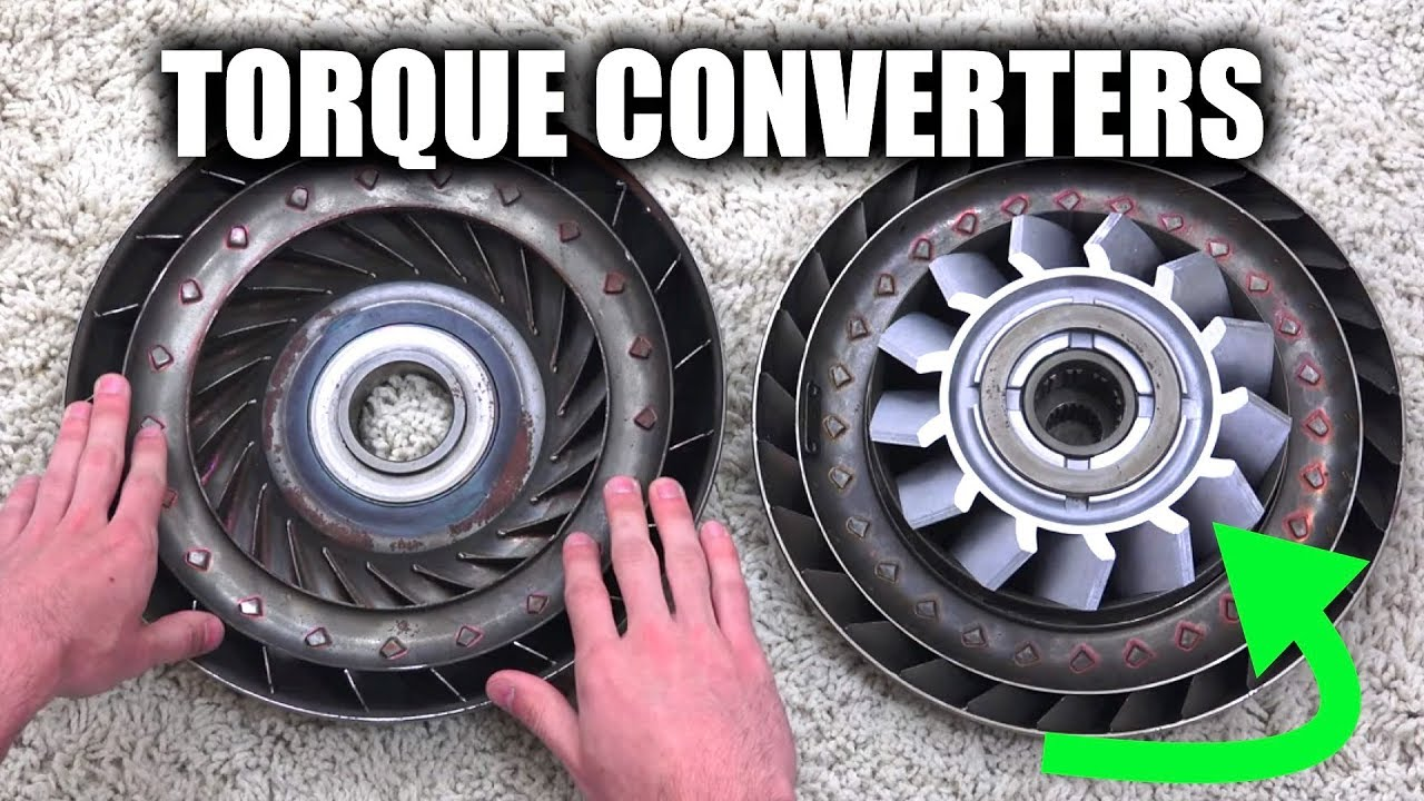 How Does A Torque Converter Work >> How Torque Converters Work Automatic Transmissions