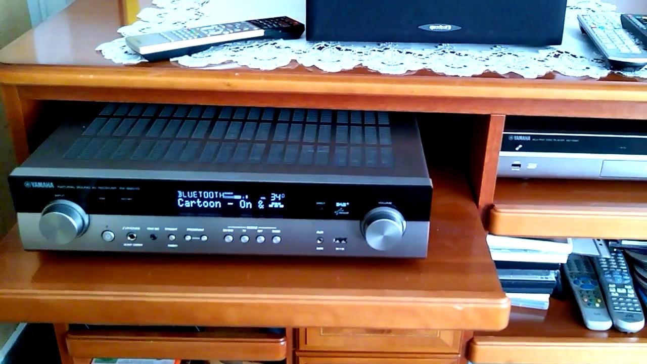 yamaha natural sound av receiver rx s601dti mit dab youtube. Black Bedroom Furniture Sets. Home Design Ideas