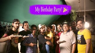 My Birthday Party with Veer and Friends!