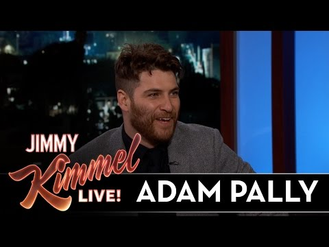 Adam Pally Makes a Grand Entrance