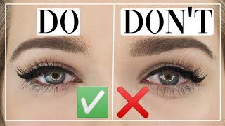 Einfacher Eyeliner bei Schlupḟlidern | Makeup Tutorial | Judy R.