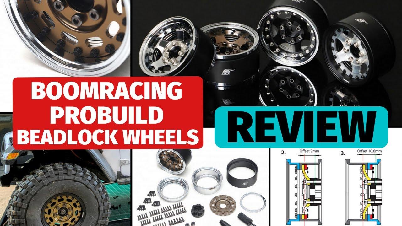 Boom Racing ProBuild Beadlock wheels review - Best beadlocks with 4 offsets in one wheel?