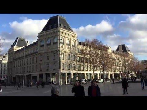 Place de la Republique, Paris France