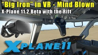 X-Plane 11 - VR in a 737: Commercial Pilot Fantasy Come True!