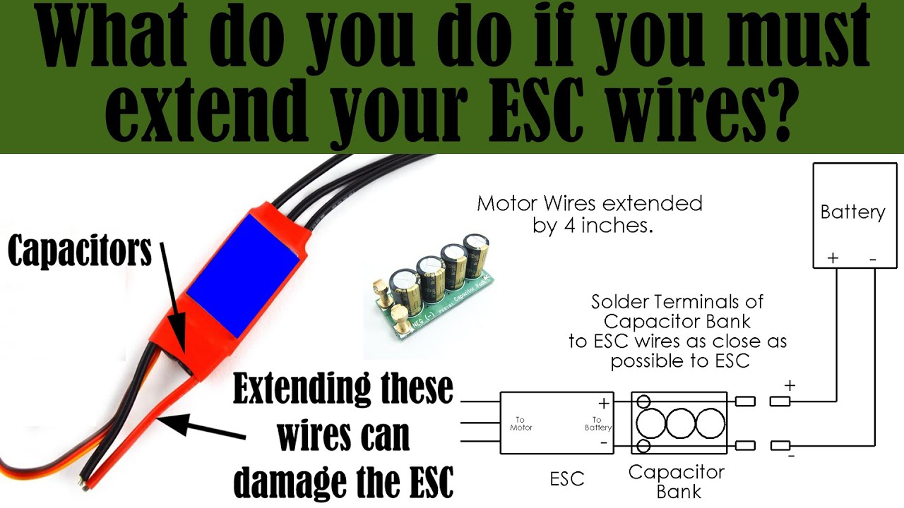 medium resolution of rc brushles esc wiring