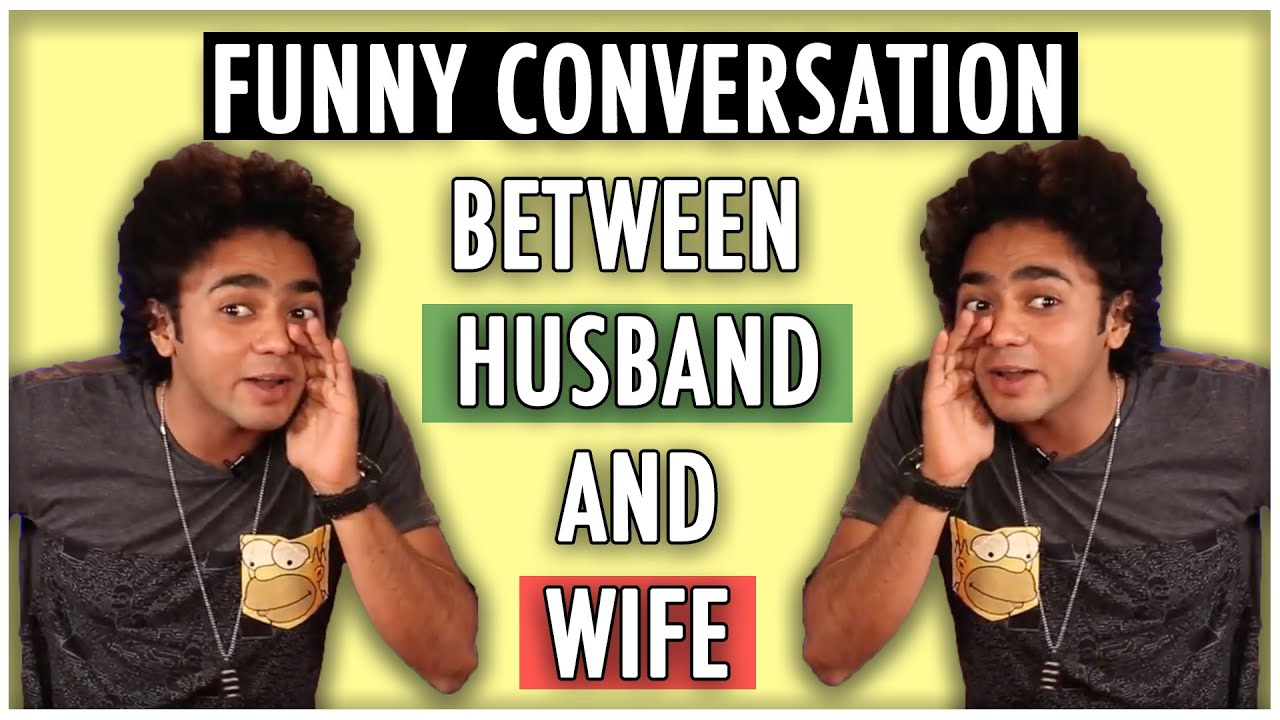 Funny Conversation Between Husband And Wife | Stand Up Comedy | Husband Vs Wife | LOL | Mimicry Act