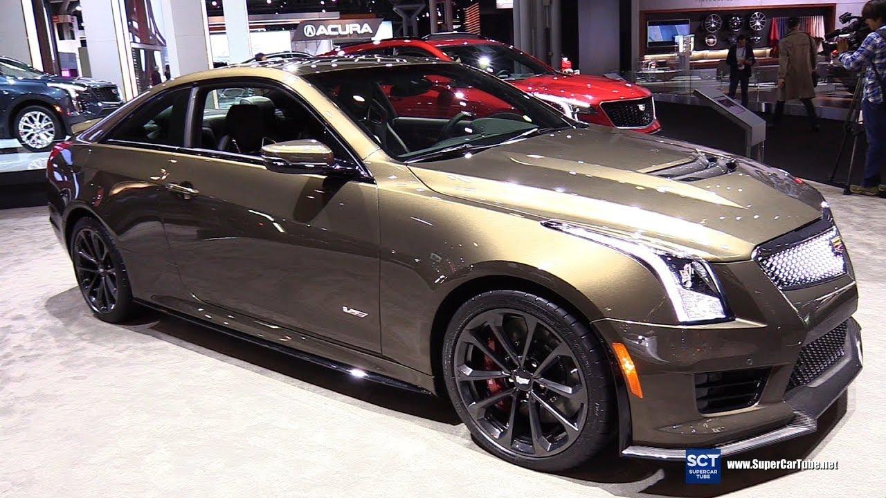 Khám phá mẫu xe Cadillac ATS V