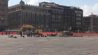 Inicia remodelación de la Plancha del Zócalo de la CDMX, 21 Abril 2017   www.edemx.com