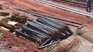 Izaias Colino e Paulo Renato acompanham obra do viaduto que ligará regiões Leste e Norte da cidade