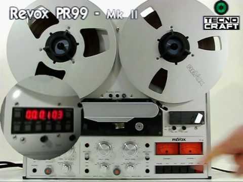 TECNOCRAFT STUDER Revox PR99 MkII