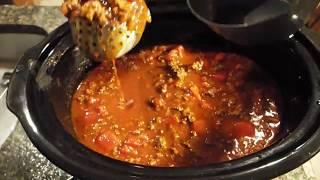 How to Make: Crockpot Chili