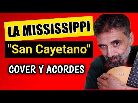 Cómo tocar San Cayetano La Mississippi con guitarra criolla Acordes Tutorial Letra