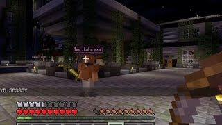 Minecraft - Hunger Games with the Crew #2! (EPIC KILL NERDGASM!)