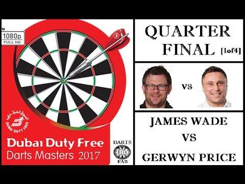 Dubai Duty Free Darts Masters 2017 HD - Quarter Final [1of4]: James Wade vs Gerwyn Price
