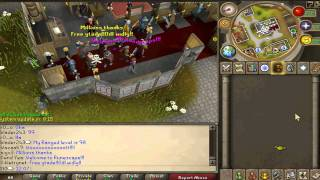 [Runescape PvP] Rs Jibb/ sl0 pvp pk vid 1 | Old wilderness 1 def hybriding high risk