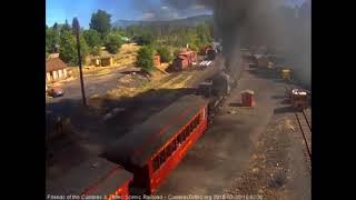 7/8/2018 C&TS 7 car train 216 departs Chama, NM