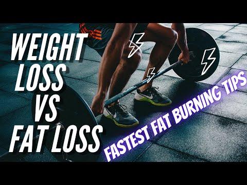 Weight loss vs Fat loss – How to lose weight fast tips (Hindi)