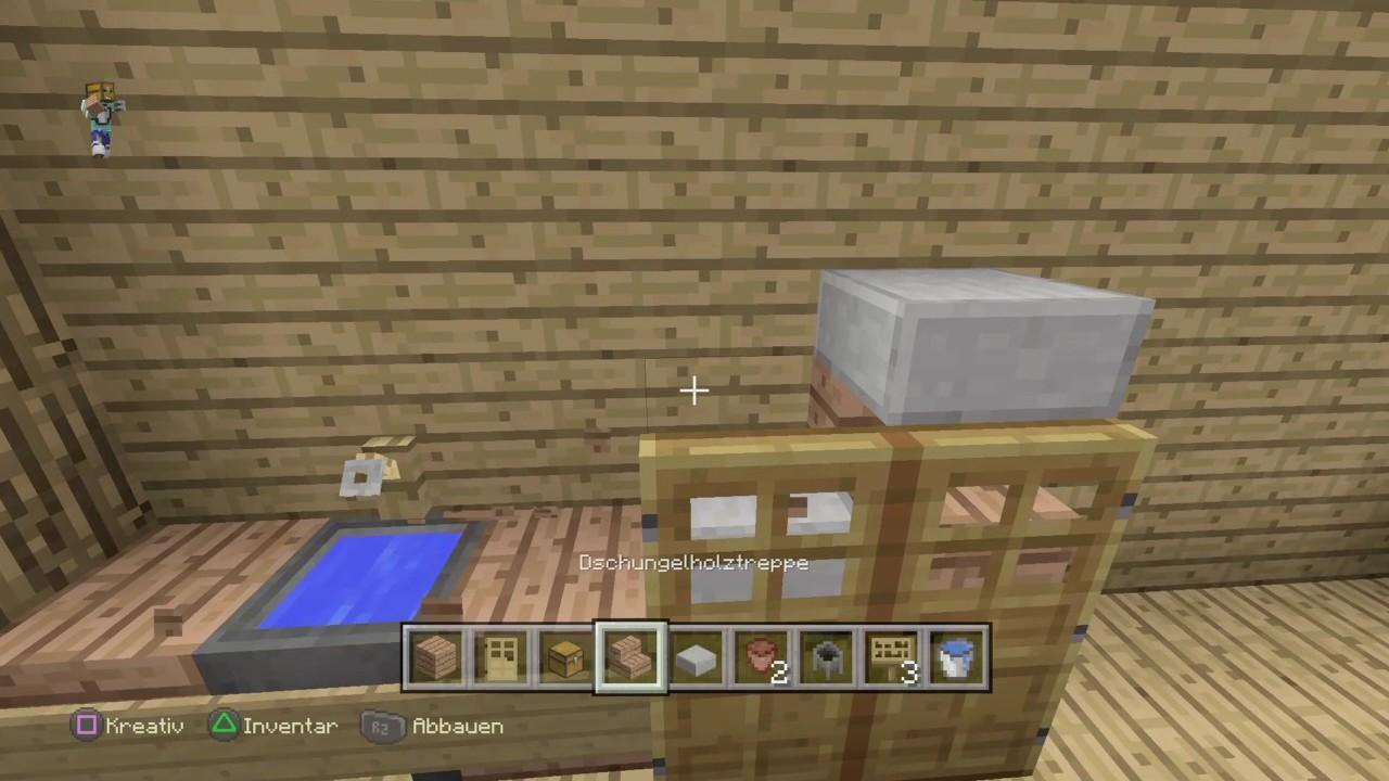 minecraft einrichtung k che 2 youtube. Black Bedroom Furniture Sets. Home Design Ideas