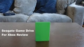 Seagate Game Drive for the Xbox Review