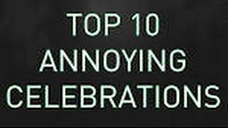 FIFA 15 - TOP 10 ANNOYING CELEBRATIONS (720p) (HD)