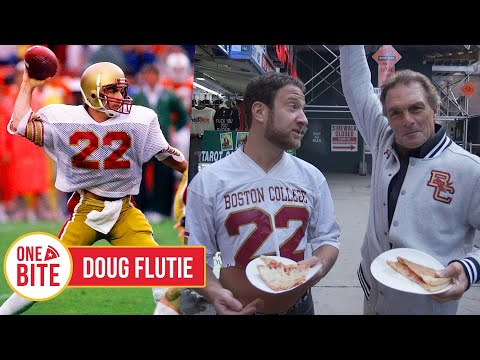 Barstool Pizza Review - Square Pizza & Chicken With Special Guest Doug Flutie