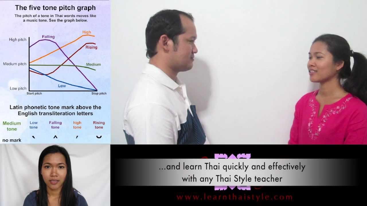 Speak Thai 11 Formal Greeting Dialogue Youtube