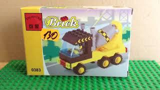 lego Englishten Brick 0383 - Бетономешалка