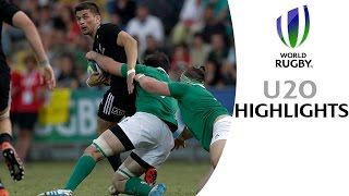 HIGHLIGHTS! New Zealand 25-3 Ireland at World Rugby U20s