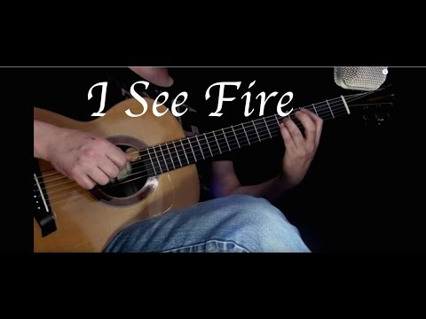 Ed Sheeran - I See Fire - Fingerstyle Guitar
