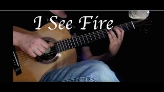 Kelly Valleau - I See Fire (Ed Sheeran) - Fingerstyle Guitar
