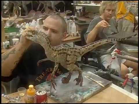 Tour of Stan Winston Studios  Jurassic Park III