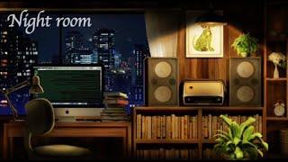 [ASMR/環境音]静かな夜の部屋、一人で黙々とパソコン作業をする。/キーボードのタッピング音、マウスの音/@Sound Forest