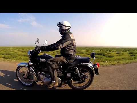 East Side Story - Sidecar and motorcycle trip in Mongolia Royal Enfield