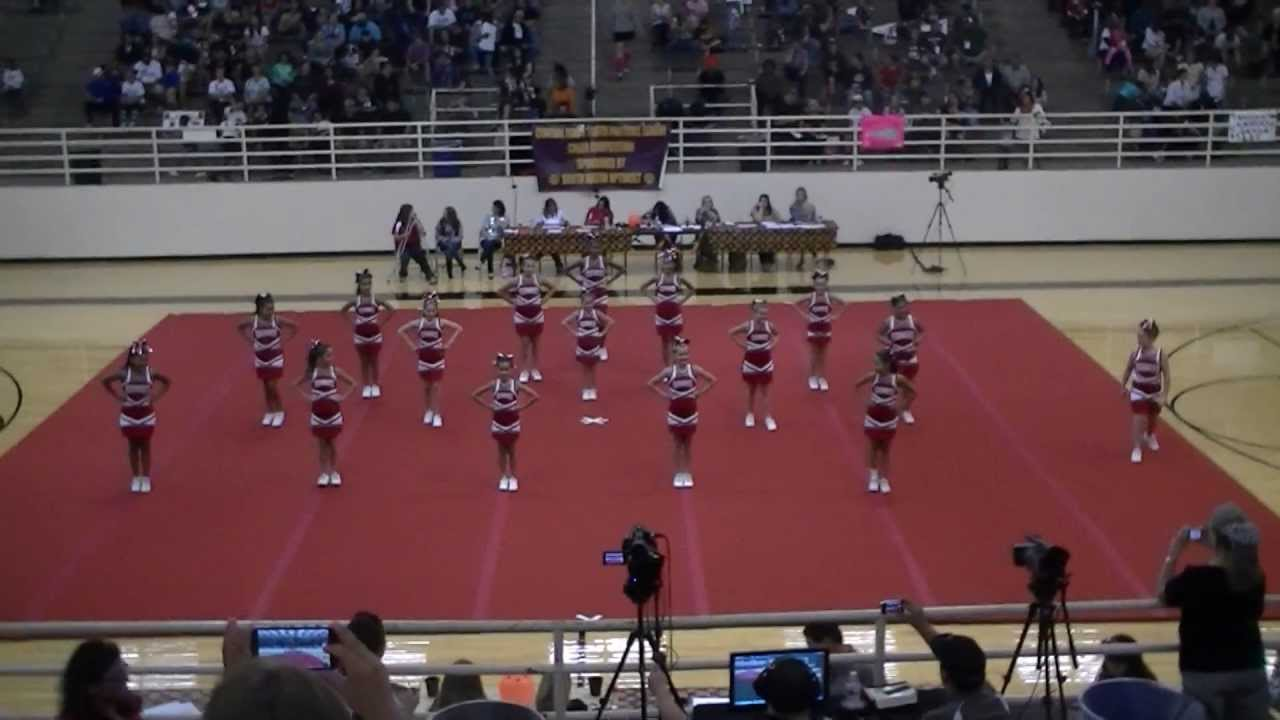 Junior Bandits Cheer 2013 - YouTube