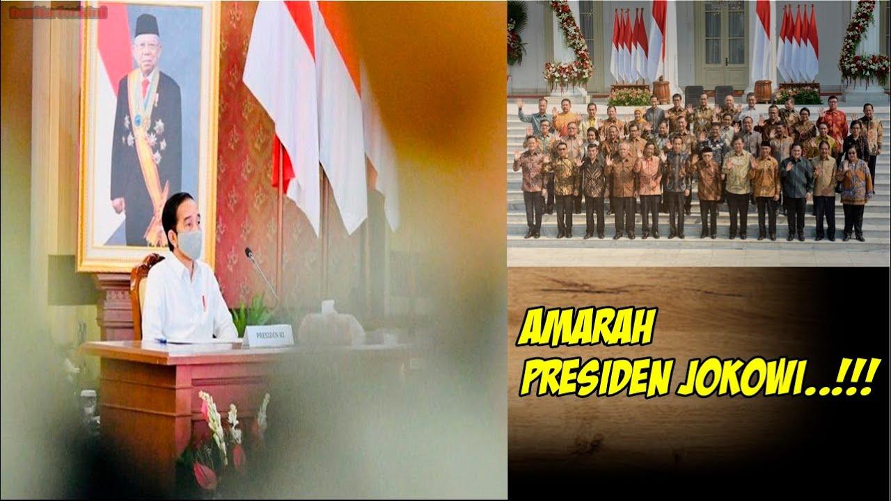 Berita Terkini - Amarah Presiden Jokowi dan Menteri yang Kena Sentil