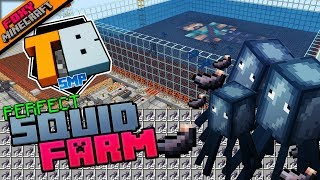 PERFECT SQUID FARM | Truly Bedrock [1-28] | Minecraft Bedrock Edition SMP (MCBE) with slacklizard