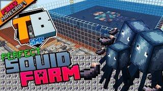 PERFECT SQUID FARM | Truly Bedrock [1-28] | Minecraft Bedrock Edition SMP (MCBE) with slacklizard