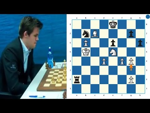 CHESS NEWS OPENING 2018 From GM MAGNUS CARLSEN