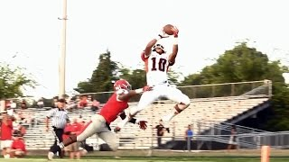 South Carolina Class of 2015 cornerback commitment Jaire Alexander with a touchdown reception for Rocky River High (Charlotte, NC) on Aug. 29, 2014.