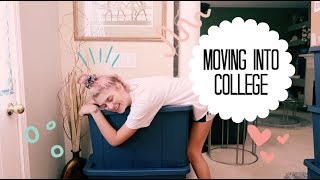 what its actually like moving into college